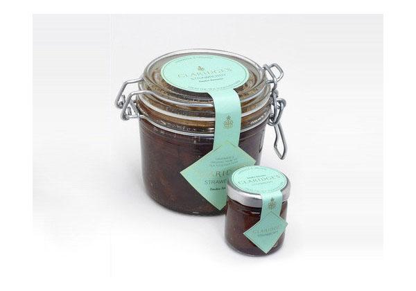CLARIDGES-Jam-Packaging-Design