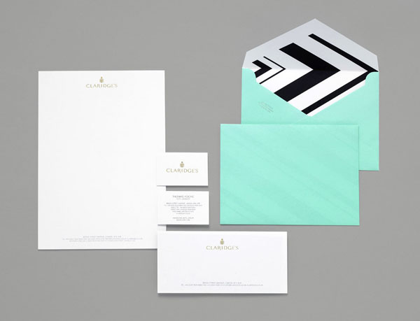 CLARIDGES-Stationery-Design-by-Construct