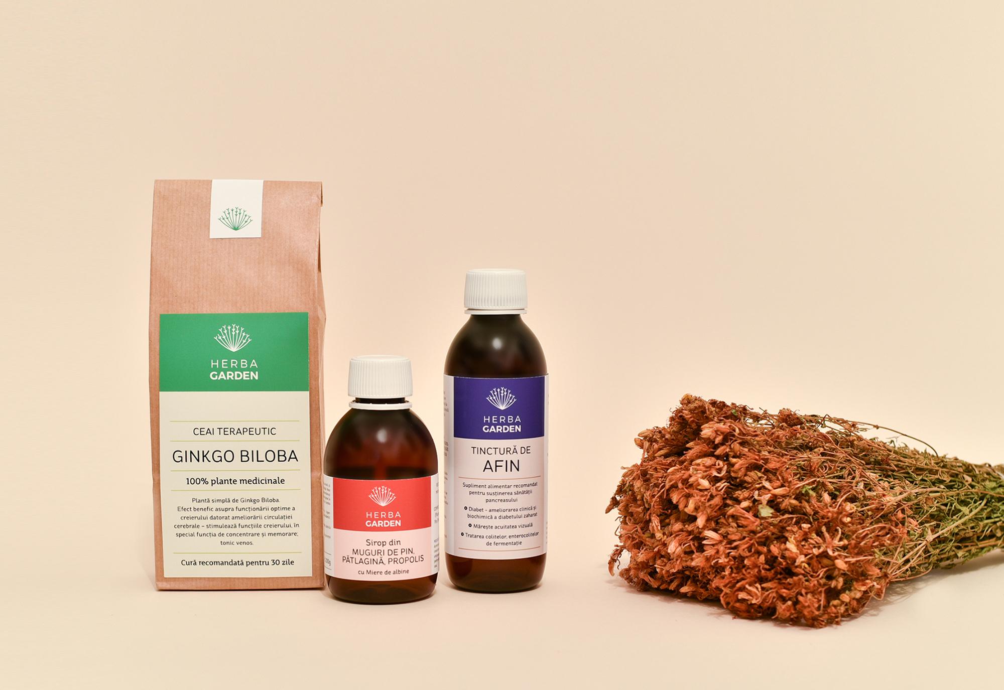 herbagarden branding